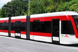 Eglinton LRT train prototype