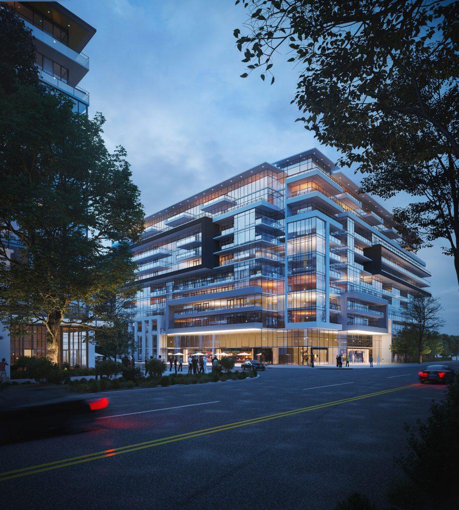 Districkt Trailside Condos Building Render